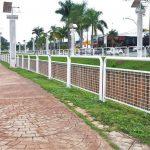 Prefeitura de Americana realiza troca de gradil de proteção na Avenida Brasil
