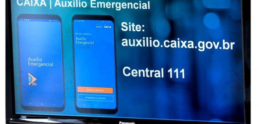 Nesta segunda, Caixa credita auxílio emergencial em contas dos beneficiários