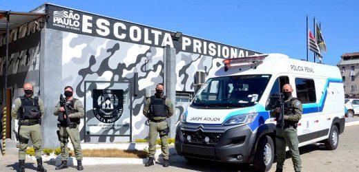 SAP recebe 13 novas viaturas para deslocamento de presos em São Paulo