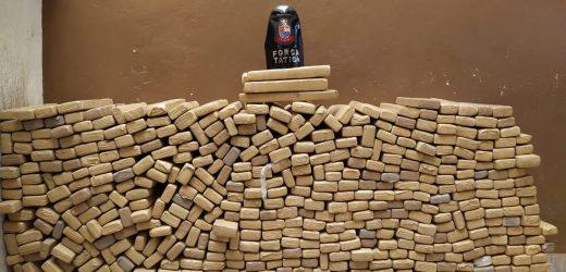 491 tijolos de maconha são apreendidos em Sumaré