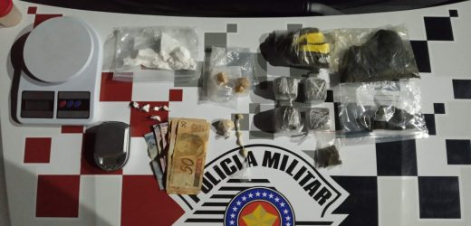 Polícia Militar apreende drogas em residência