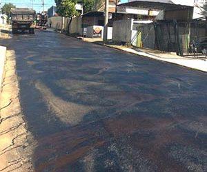 Secretaria de Obras inicia obras no Santa Catarina e Cidade Jardim