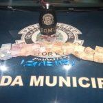 Romu apreende indivíduo em flagrante por tráfico de drogas