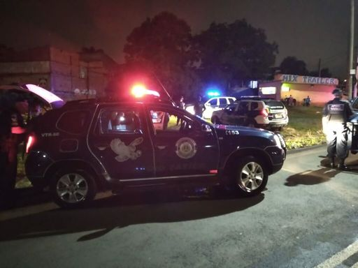 Local daabordagem ao veículo (Foto: Guarda Municipal de SBO)