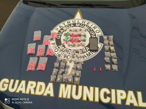 Drogas apreendidas (Foto: Guarda Municipal)