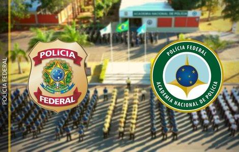 Brasões das instituições (Foto: Polícia Federal)